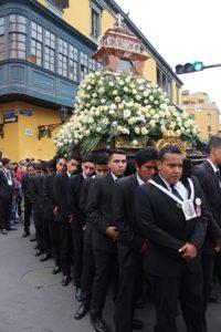 Lima - processie de Santa Rosa