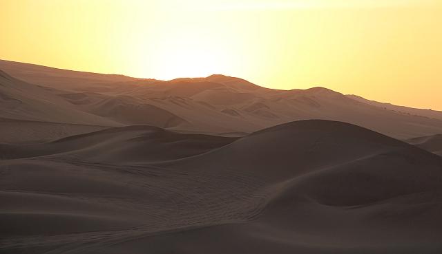 Huacachina - Zonsondergang in de zandduinen