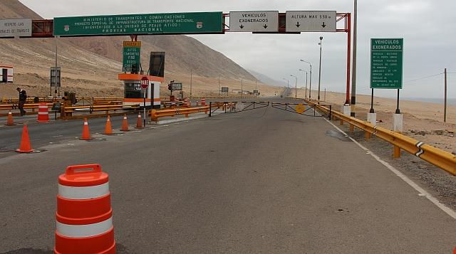 De snelweg naar Arequipa is gedurende enkele uren gesloten