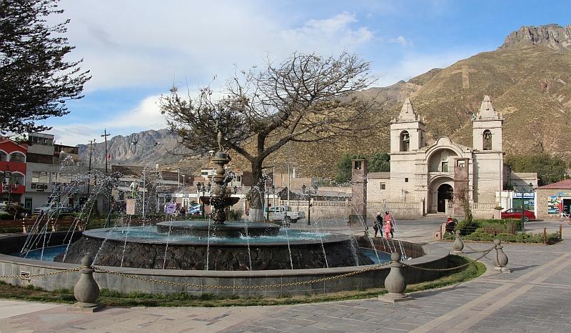 Chivay - Plaza Mayor