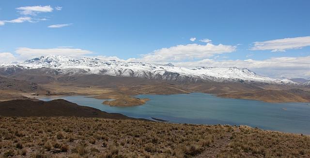 La Gunillas, op een hoogte van 4413 meter
