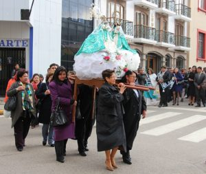 Processie in Puno