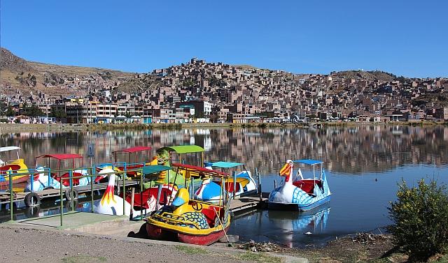Puno - De baai bij de haven