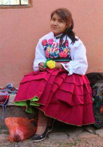 Amantani - Marisol, de dochter van de gastvrouw