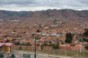 Cusco - Uitzicht van boven