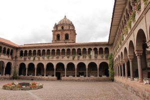 Cusco - Qorikancha - binnenplaats