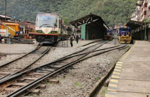 Aguas Calientes - treinstation