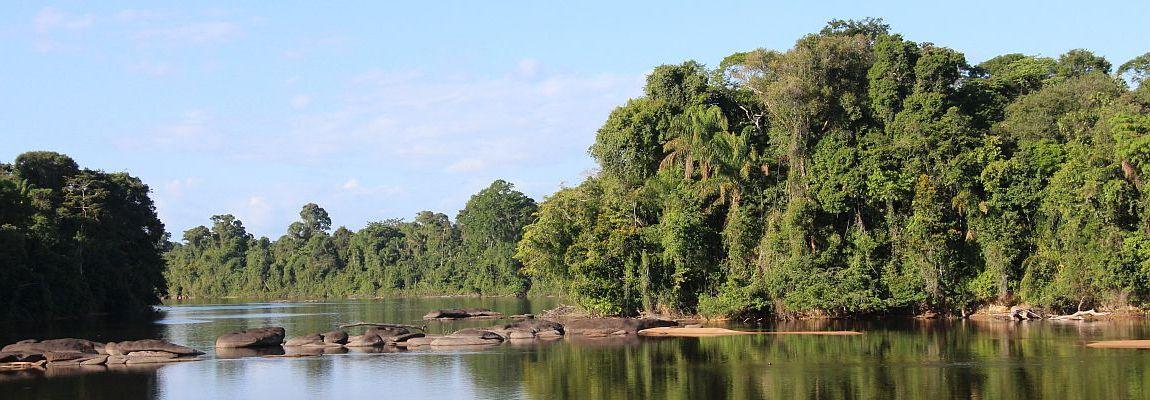 Suriname binnenland